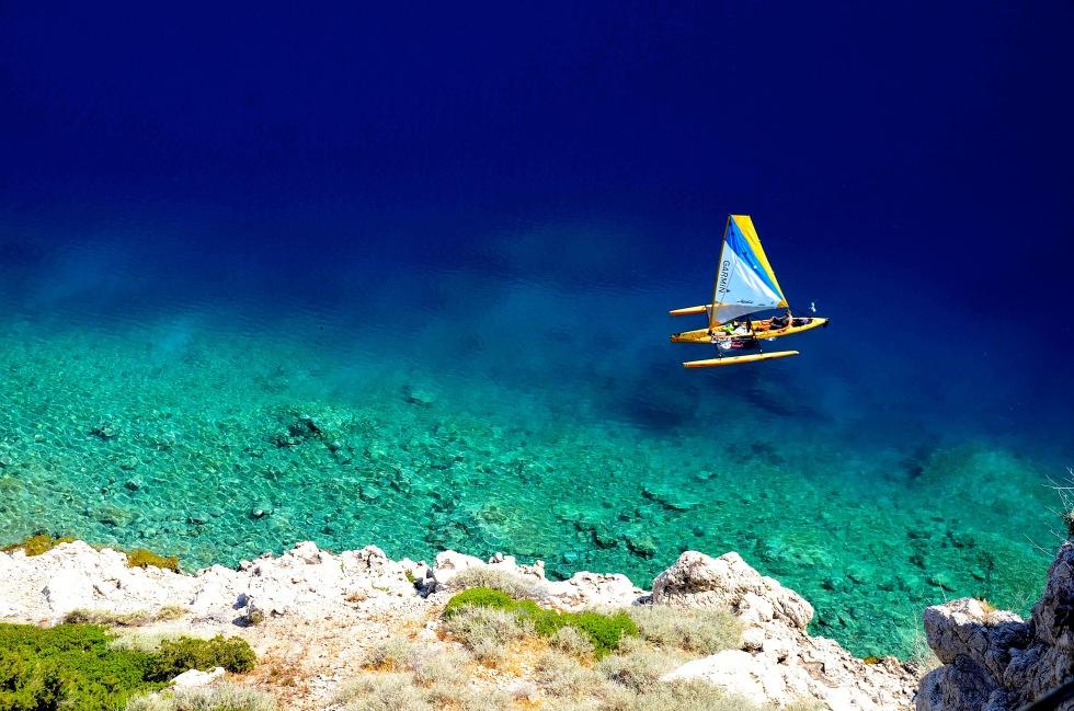 Clear water in Greece 1