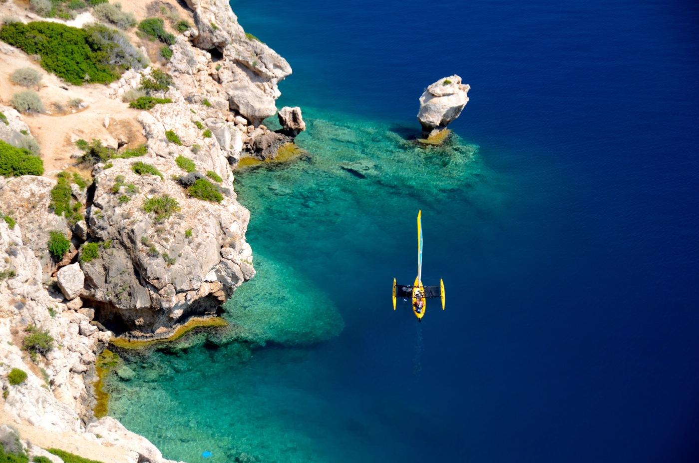 Clear water in Greece 2