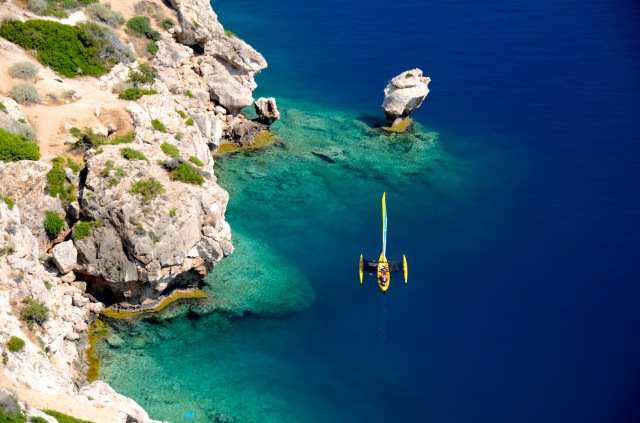 Clear water in Greece 2