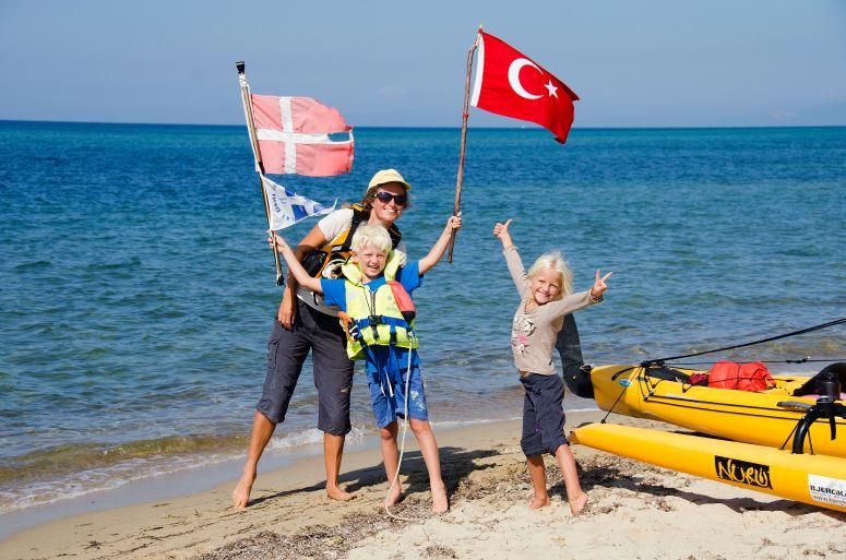 Denmark to Turkey