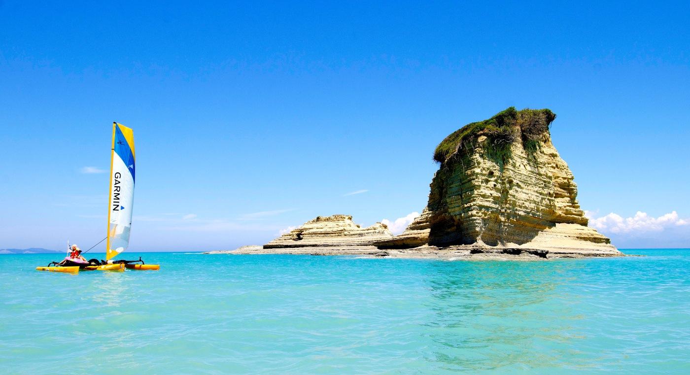 Island jumping in Greece