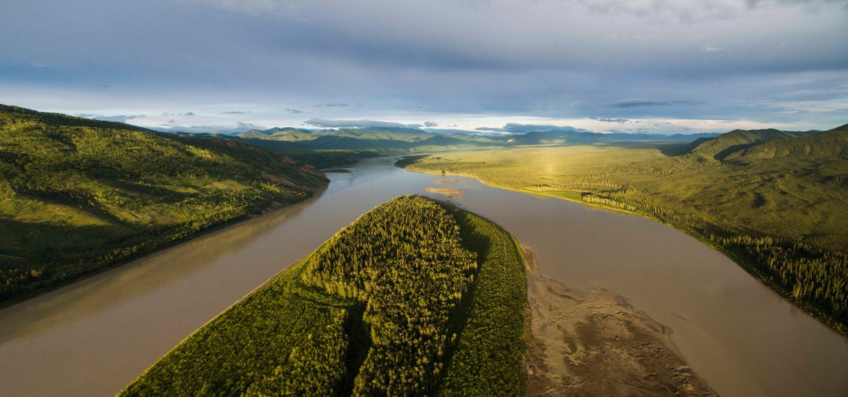 Yukon River - canoeing 2000 km in wilderness!
